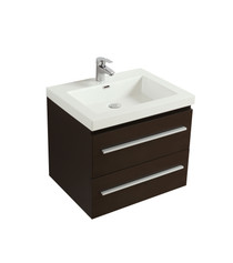 "Rubi Arto 24"" Bathroom Vanity Espresso"