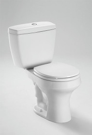 Toto Rowan™ Two-Piece Toilet 1.6 GPF & 1.0 GPF, Elongated Bowl