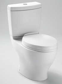 Toto Aquia II Close Coupled Toilet 1.6GPF & 0.9GPF