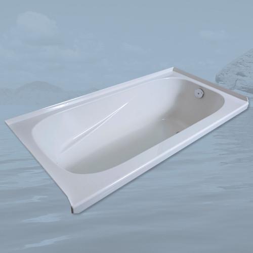 Mirolin Gryphon Acrylic Alcove Bathtub Left