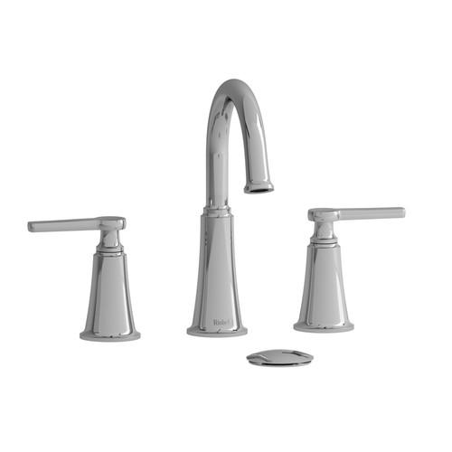 """Riobel Momenti 8"""" Lavatory Faucet Chrome Finish"""