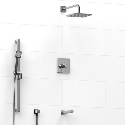 Riobel Premium 3-way Shower Kit Chrome Finish