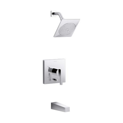 Honesty™ bath and shower trim set with 2.0 gpm showerhead and lever handle for Rite-Temp pressure-balancing valve