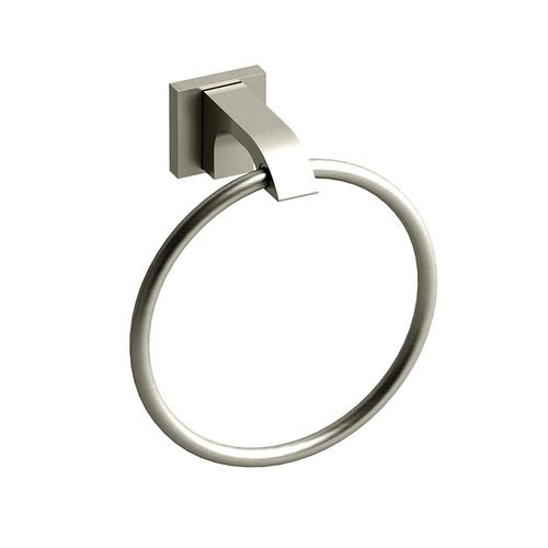 Riobel Zendo Towel Ring Brushed Nickel - ZO7BN