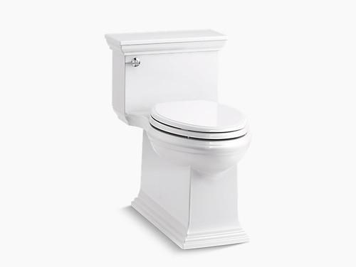 Kohler Memoirs Stately One-Piece Compact Elongated 1.28 GPF Toilet - White