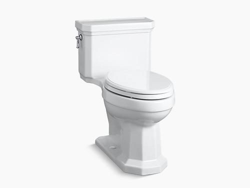 Kohler Kathryn Comfort Hight One-Piece Compact Elongated 1.28 GPF Toilet - White