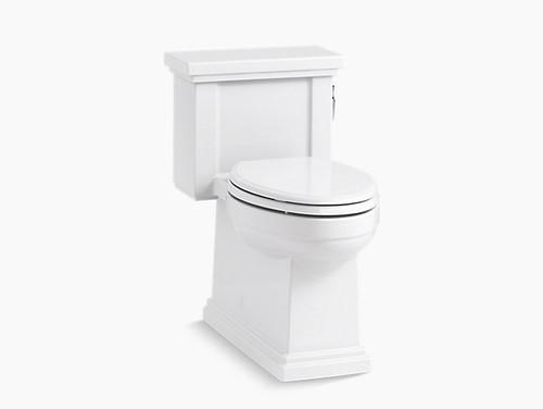 Kohler Tresham Comfort Height One-Piece Compact Elongated 1.28 GPF Toilet - White