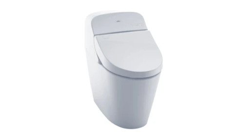 The WASHLET G400 a smart toilet and a convenient compact design. The 3D Tornado Flush™ system uses an efficient 1.28 or 0.9 GPF. Complete with our CEFIONTECT™ ion barrier glaze. The G400 minimizes debris and mold from sticking to ceramic surfaces, keeping your toilet cleaner, longer.
