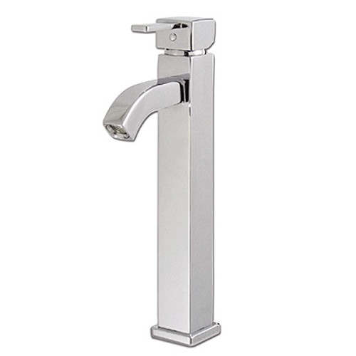 Rubi Four One Raised single-hole basin faucet with pop-up waste