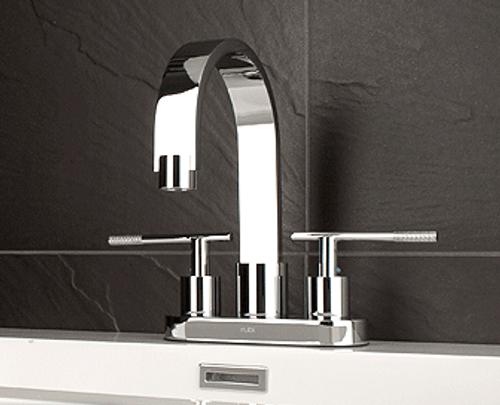 "Rubi Larix 4"" single-handle washbasin faucet"
