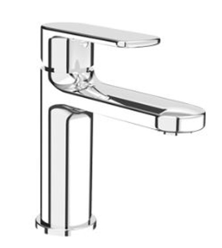 Rubi Myrto Single Lever Washbasin Faucet with Drain Chrome