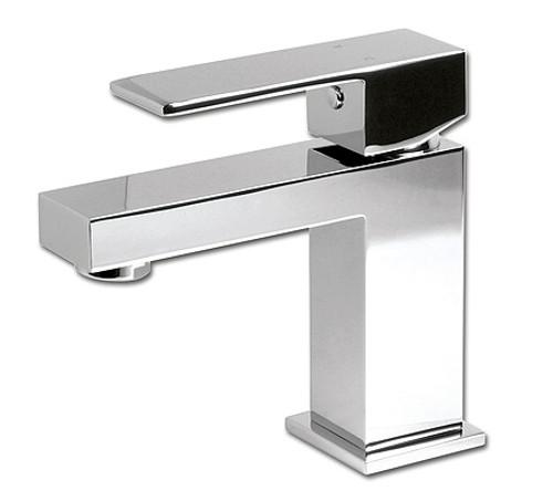 Rubi Quatro Single-hole basin faucet with pop-up waste RQT11BCC