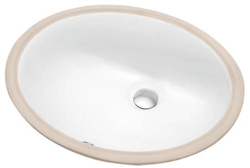 "Alberta Under Mount Bathroom Sink 17 1/2 x 13 3/4"""