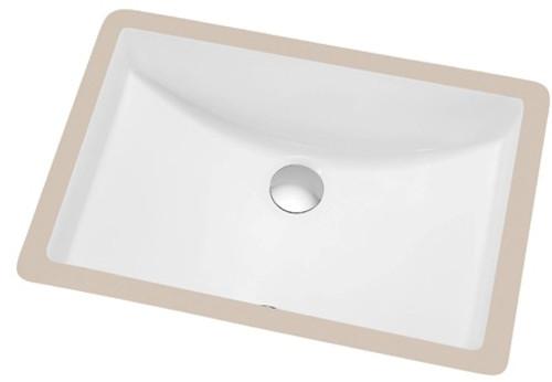 Modern Undermount Bathroom Sink 21 X 14 5 York Taps