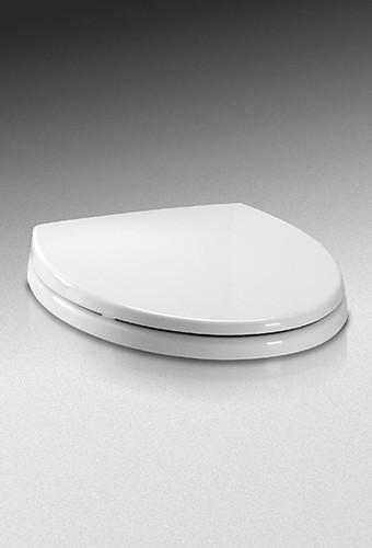 Toto SoftClose Cotton White Round Toilet Seat