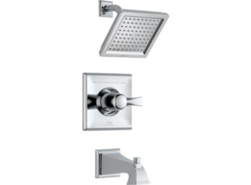 Delta Dryden Monitor 14 Series Tub and Shower Trim Chrome