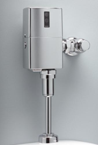 EcoPower High Efficiency Urinal Flushometer Valve, 1.0 Gpf, Exposed -