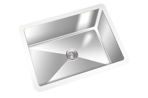 "Square Kitchen Sink Single Bowl 22"" x 14"""