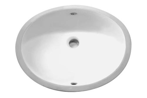 Porcelain Undermount Sink Oval