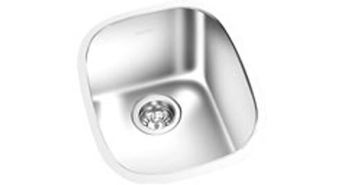 Single Bowl Under Mount Satin Kitchen Sink