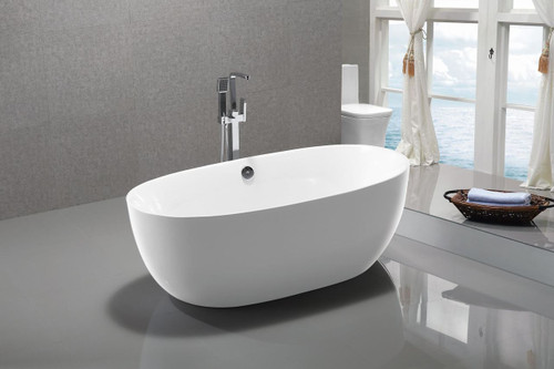 "Seabreeze 55"" Free Standing Bath Tub"