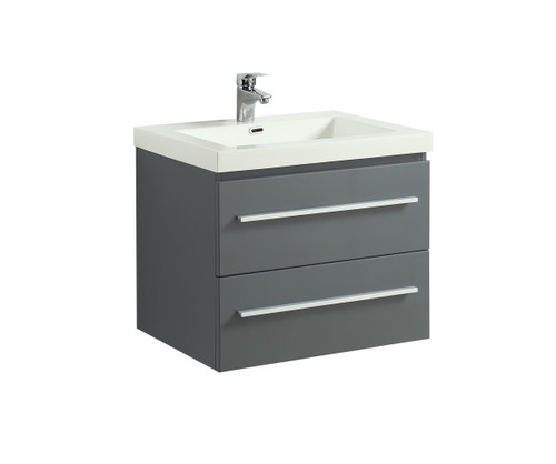 "Rubi Arto 24"" Bathroom Vanity Grey"