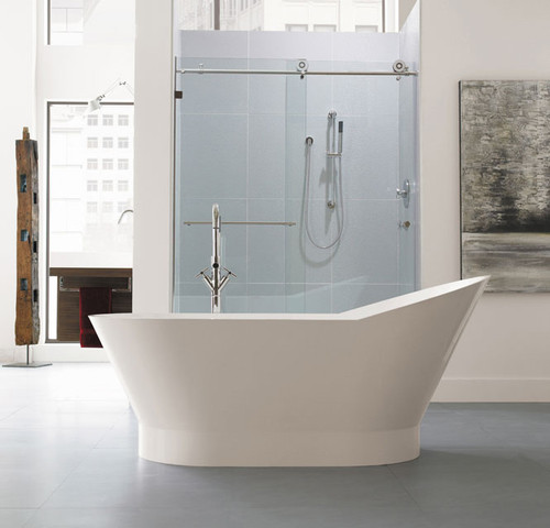"Neptune Wish Freestanding O2 Bath Tub 66"""