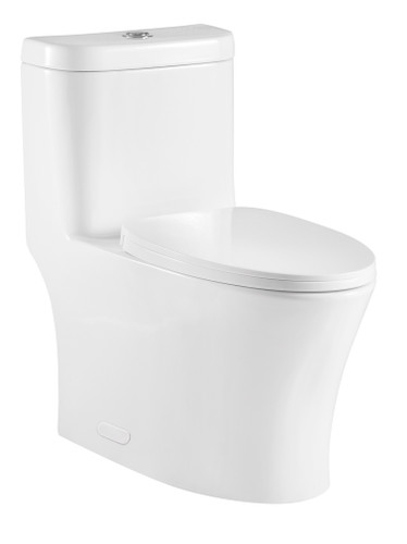 Crown Deco Single Flush One Pc Toilet