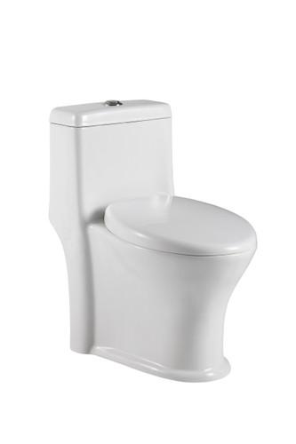"Crown Victoria Dual Flush Toilet One Piece Low Depth 23 3/4"""