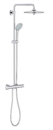 Grohe Euphoria System 180 Thermostatic Shower System Chrome 26128000