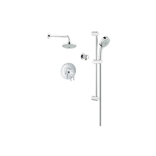 Grohe Timeless PBV Dual Function Shower Kit In Chrome