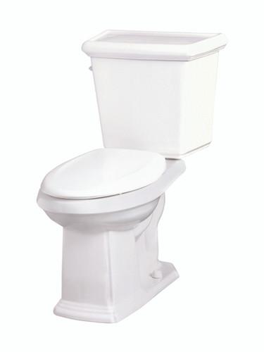 Gerber Logan Square 1 28 Gpf 4 8 Lpf 12 Rough In Toilet White York Taps