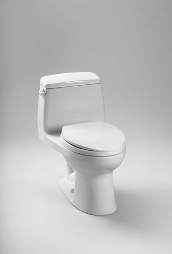 Toto UltraMax® One-Piece Toilet, 1.6 GPF, ADA Compliant, Elongated Bowl