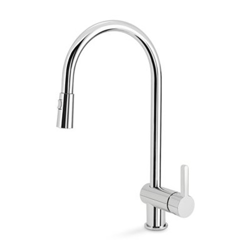 Blanco 401460 Rita Single Hole Pullout Spray Kitchen Faucet SOP1423 in Chrome