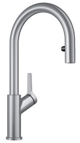 Blanco 403730 Urbena Pull Down Kitchen Faucet In Stainless Finish
