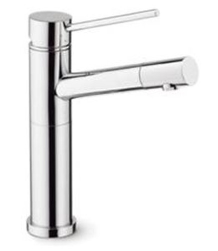 Blanco 401317 Alta Single Hole Pullout Spray Kitchen Faucet SOP1362 in Chrome