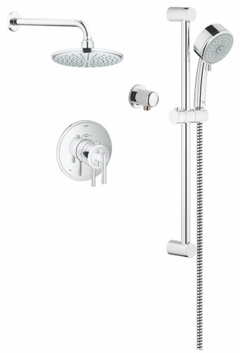 Grohe 117161 THM Dual Function Shower System Chrome
