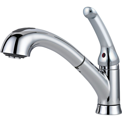 DELTA Pull-Out Kitchen Faucet Chrome