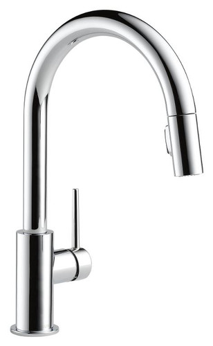 DELTA 9159-DST TRINSIC PULL-DOWN KITCHEN FAUCET - CHROME