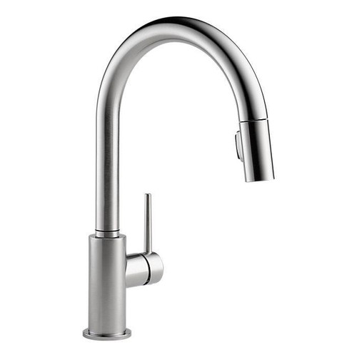 DELTA Trinsic Single Handle Pull Down Arctic Stainless Finish