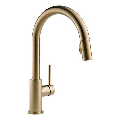 DELTA 9159-CZ-DST TRINSIC KITCHEN FAUCET WITH PULLDOWN SPRAY - CHAMPAGNE BRONZE