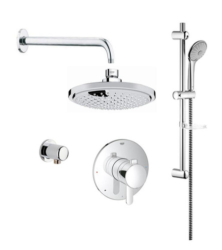 Grohe Cosmopolitan PBV Dual Function Shower Kit