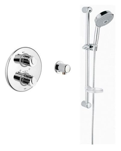 Grohe Basic THM Single Function Shower Kit