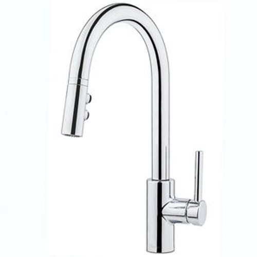 Price Pfister Stellen 1-Handle Pull Down Kitchen Faucet Chrome