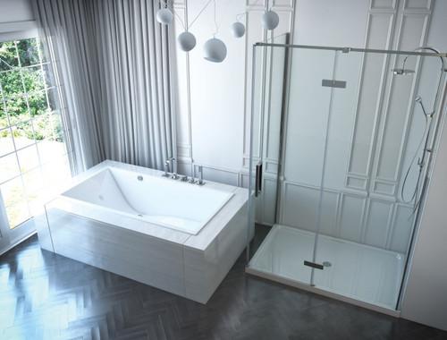 "Mirolin Chaise 66"" x 32"" W x 22"" D Drop-In Bath"