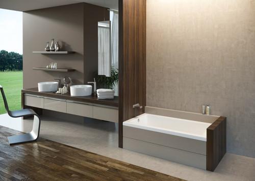 "Mirolin Amalfi Alcove Baths 60"" x 32"" LH"