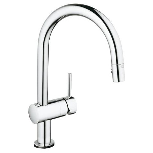 Grohe Minta Touch Touch Single-Handle Kitchen Faucet Dual Spray Pull-Down SuperSteel