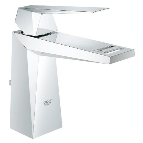 "Grohe Allure Brilliant 4"" Centerset Bathroom Faucet M-Size Lavatory Centreset Chrome Finish"