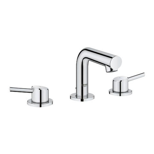 "Grohe Concetto 8"" Widespread Two-Handle Bathroom Faucet Chrome Finish"