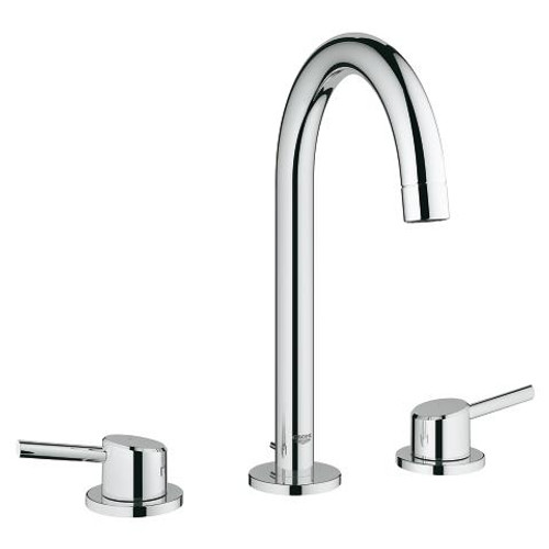 """Grohe Concetto 8"""" Widespread Two-Handle Bathroom Faucet L-Size Chrome Finish"""